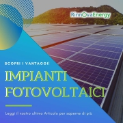 IMPIANTI FOTOVOLTAICI - RINNOVA ENERGY