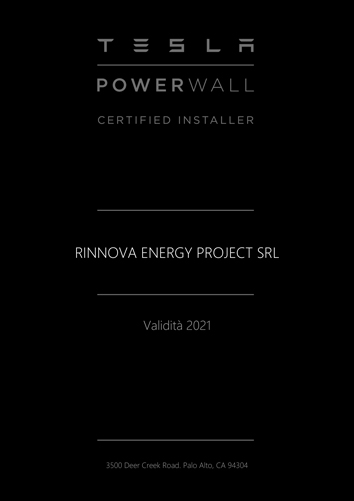 RINNOVA-ENERGY-PROJECT-SRL-Tesla-PW-CI-Certificate-2021